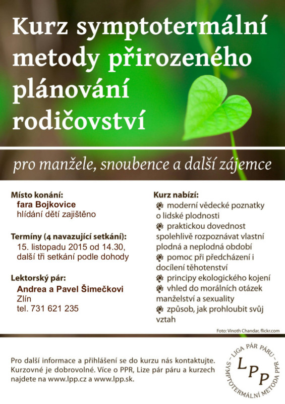 plakát_LPP_kurz podzim 2015 Bojkovice